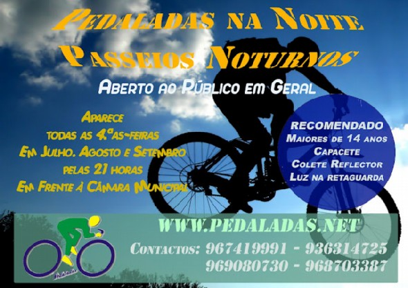 Pedaladas na noite modified
